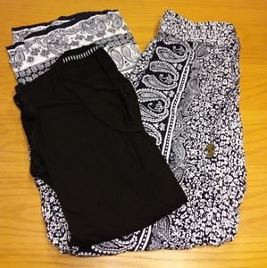 Artisan NY Palazzo Pants and Shirt Set